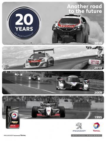 Total y Peugeot